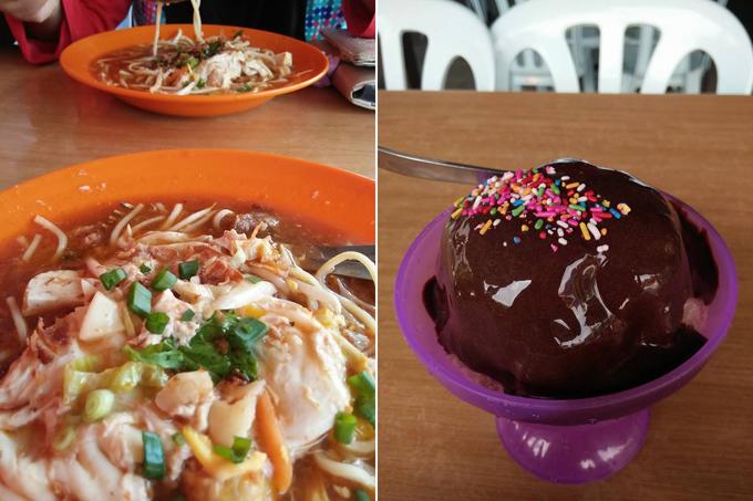 Mee Rebus, Milo Kepal, ABC di D'Bukit Changkat Ibol, Taiping