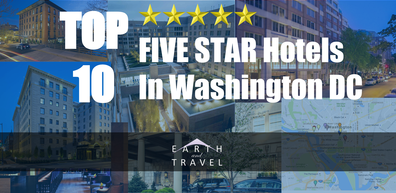 Top 10 5 star luxry hotels in washington dc earth and travel for Best star hotel
