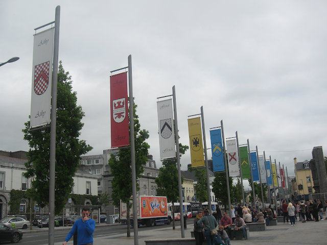 Flags of the 14 tribes of Galway