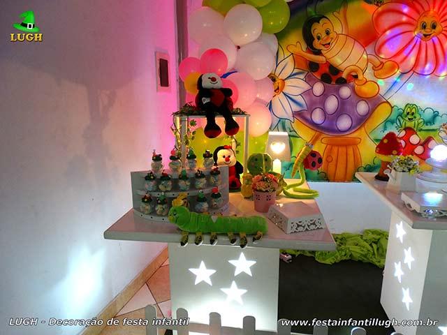 Decoração de festa Jardim Encantado - Festa de aniversário de 1 ou 2 aninhos