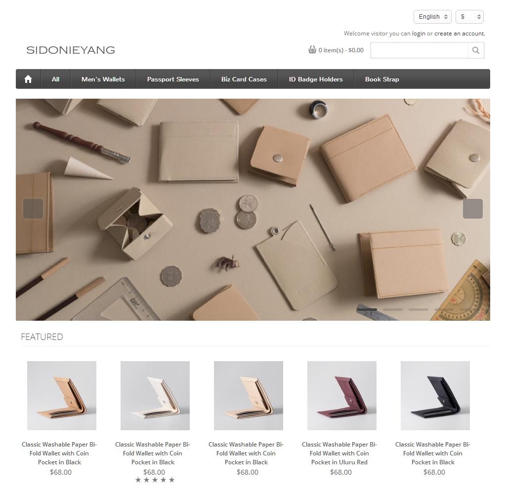 紙樣手創設計官方網站的截圖於 2014/06/13
