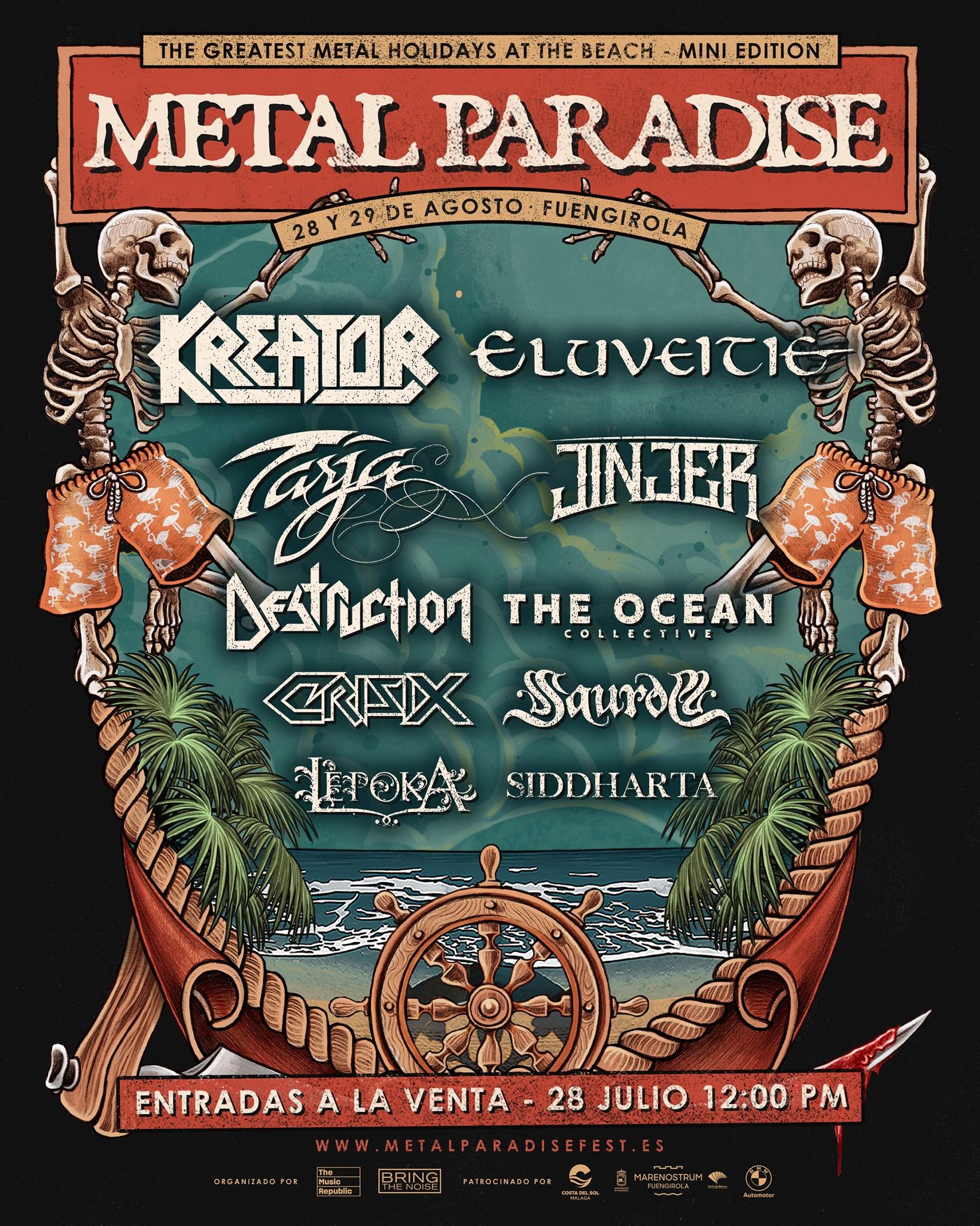 Metal paradise artwork