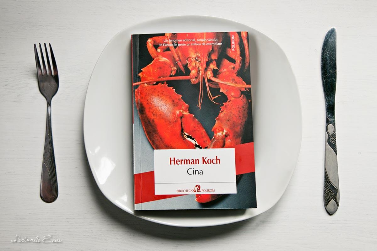 Recenzie Cina Herman Koch neerlandez carte