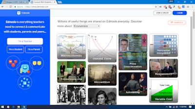 Edmodo - Website/Aplikasi Forum Belajar online