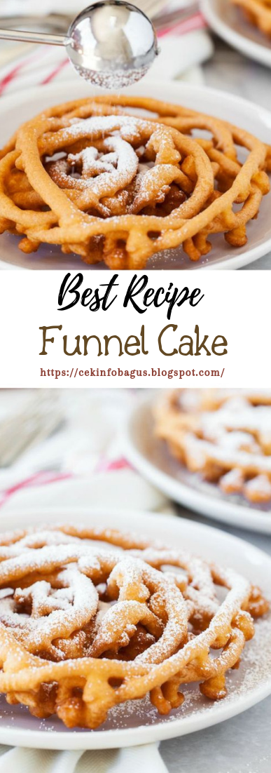 Funnel Cake #desserts #cakerecipe #chocolate