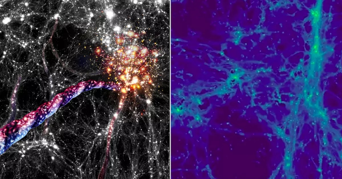 Astronomers Detect What May Be The Largest Rotating Structures In The Universe