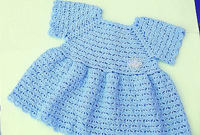 6 - Crochet Imagen Falda para bolero y canesú a crochet muy fácil y sencillo