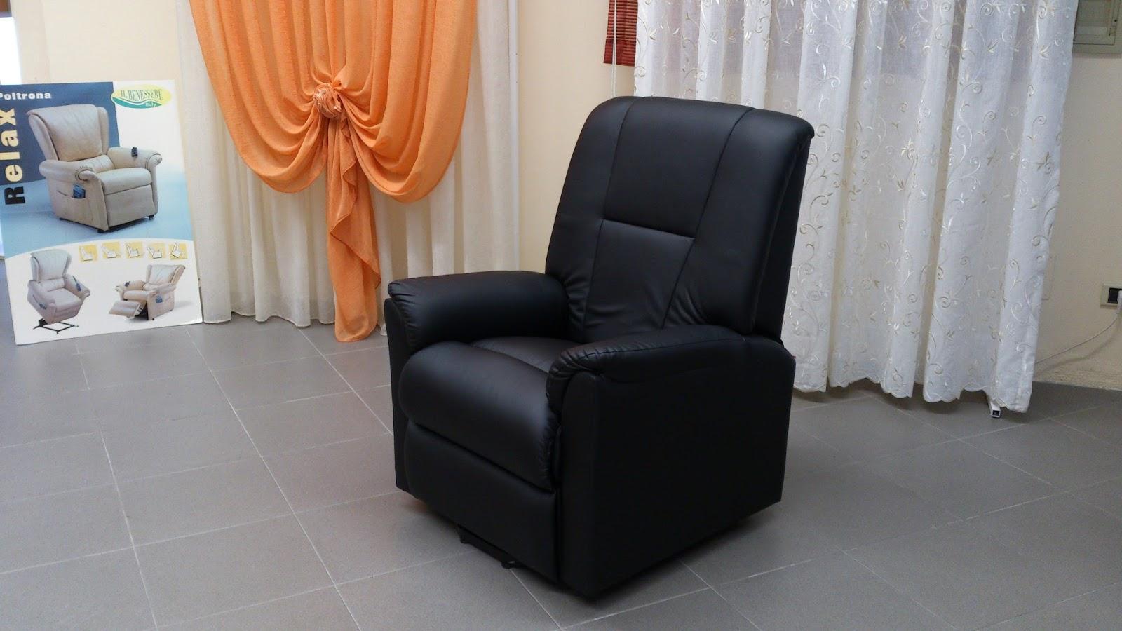 Prezzi poltrone divano poltrona massaggio elettrica pelle lux