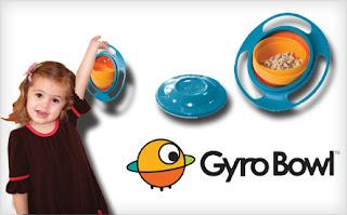 Gyro Bowl Prato Mágico Infantil Giratório