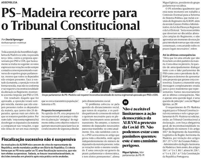 O alheamento dos madeirenses começa a ter custos democráticos