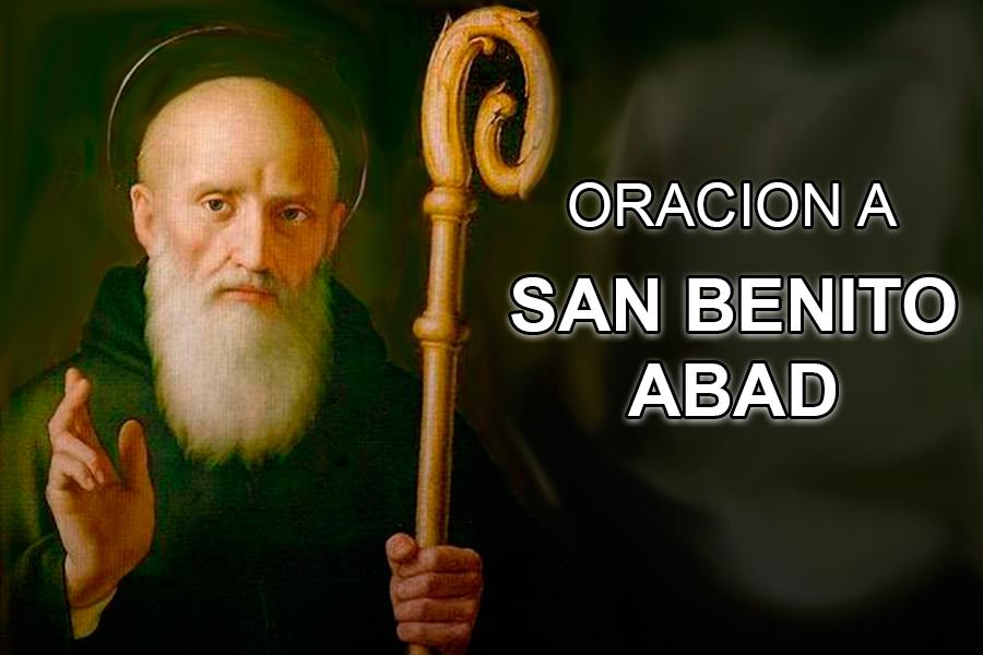 Oración AbreCaminos a San Benito Abad