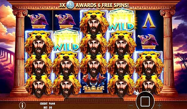 Main Gratis Slot Indonesia - Hercules Son of Zeus (Pragmatic Play)