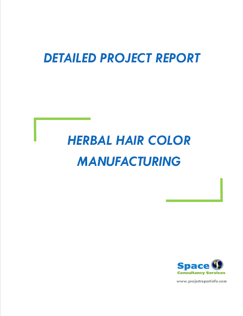 Project Report on Herbal Hair Color Manufacturing