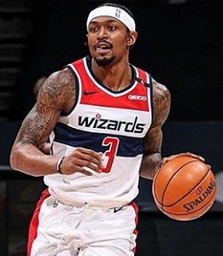 Wizards, Bradley Beal, Top 5, nba, Players, Most games, 25 points, scores, start a season,  NBA history.