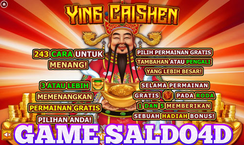 Game Slot Ying Cai Shen Top Trend Gaming