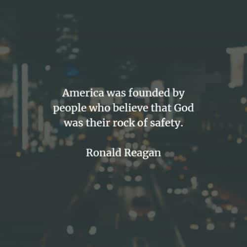 Famous quotes and sayings by Ronald Reagan