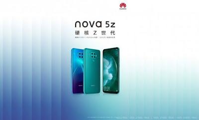 هواوي ستكشف عن هاتف Nova 5Z قريباً
