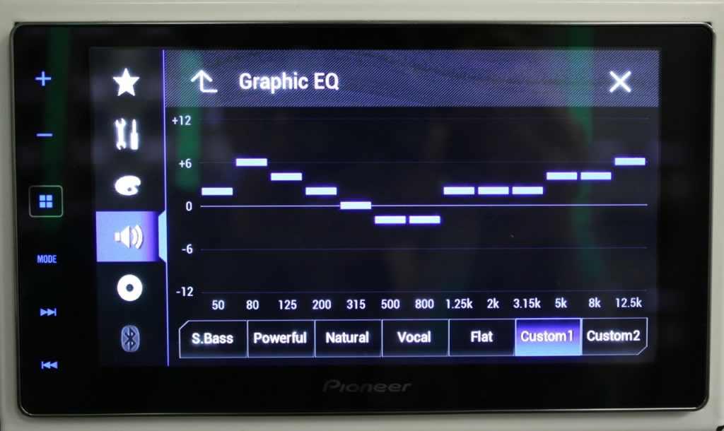 car audio equalizer settings