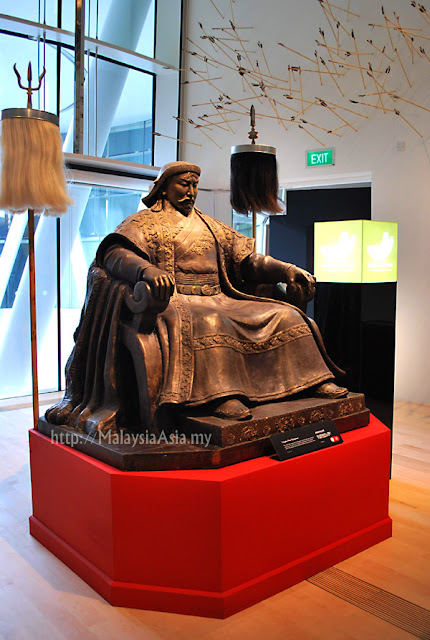 Exhibition for Genghis Khan