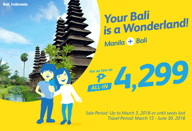 Cheap Flights Bali Vacation 2016