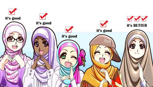 mana duluan dijilbabin hati atau kepala alasan seseorang menanggalkan melepaskan jilbab