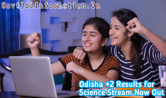 Odisha twelve class results how to check online