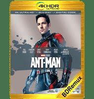 ANT-MAN: EL HOMBRE HORMIGA (2015) BDREMUX 2160P HDR MKV ESPAÑOL LATINO