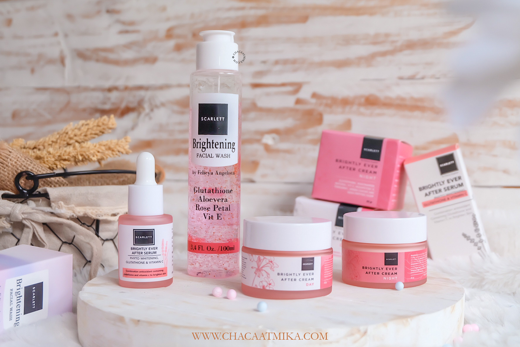 Review Scarlett Whitening Brightly Ever After