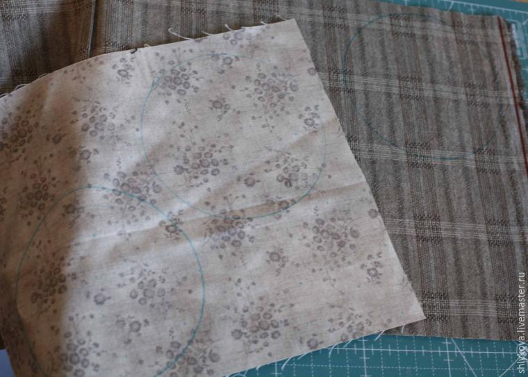 Sew Japanese Coin holders. Quilting and patchwork. DIY step-by-step tutorial. Шьём японскую монетницу. Мастер-класс.