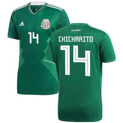 Jersey Mexico New 2018