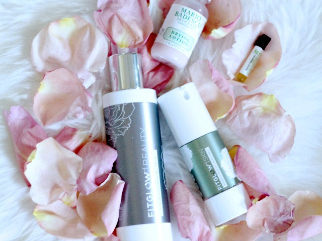 Natural Skincare Products to fight rosacea ; FITGLOW, Mario Badescu, Odacite