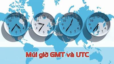 Múi giờ GMT, UTC là gì? Cách tính múi giờ quốc tế chính xác nhất