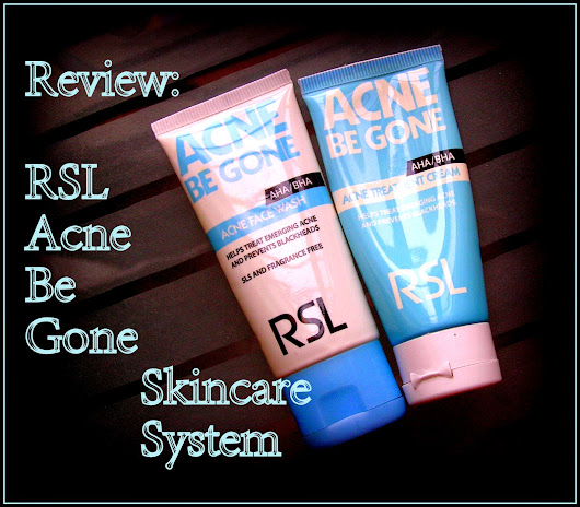 Review | Skincare | RSL Acne Be Gone Skincare System