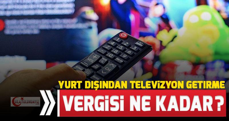 Yurt Dışından TV Getirmek - 2020 Yılı Bandrol Ücretleri ve Televizyon Getirme Prosedürleri Nelerdir?