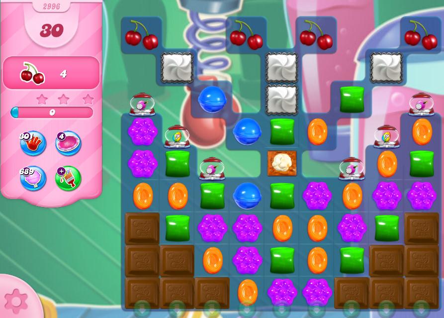 Candy Crush Saga level 2996