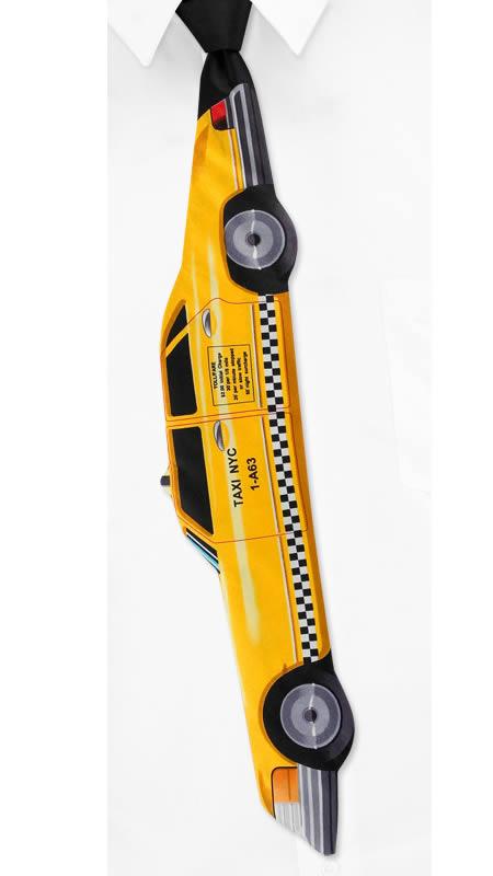 diseño de corbata de taxista