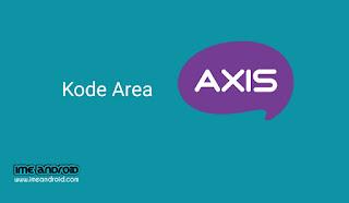 Kode area axis