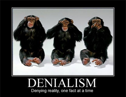 Poster of the Week - Denialism / Denying reality, one fact at a time (Credit: www.facebook.com/iheartcomsci)