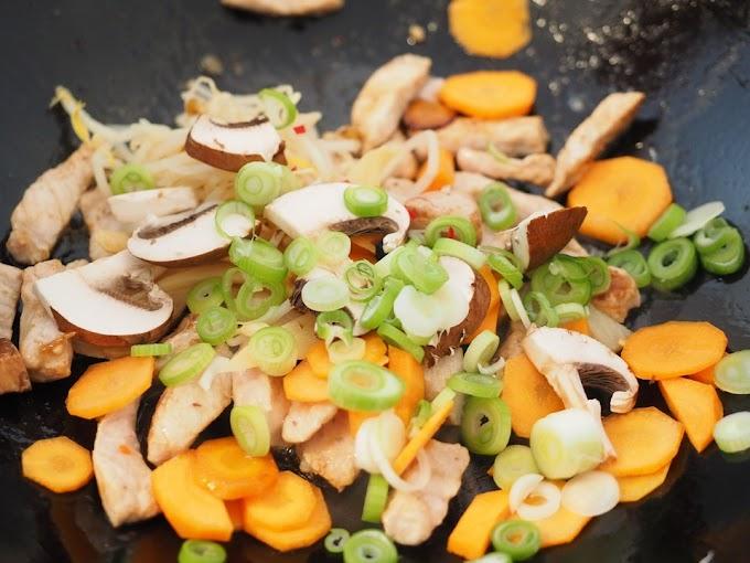 Base para wok de pollo Keto