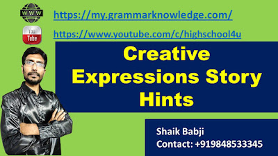 Creative Expressions Story Hints