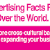 Advertising Facts From All Over The World #infographic