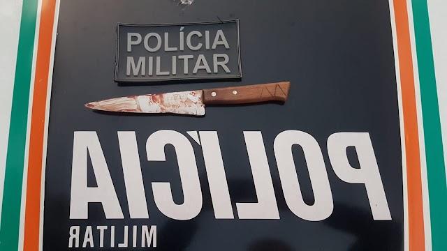 Homem é morto a facadas em Milagres; acusado foi preso em flagrante