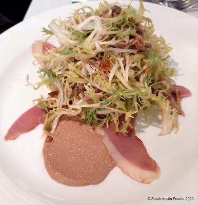 Chapeau Bistro duck salad