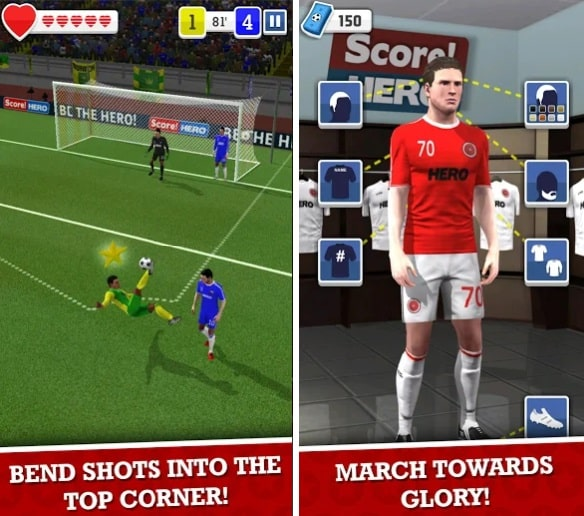 game sepakbola android