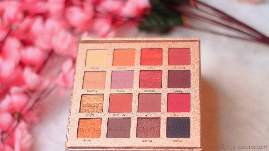 16 color eyeshadow palette shades imagic