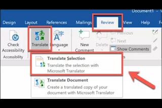 Cara Mudah Translate Dokumen di Microsoft Word