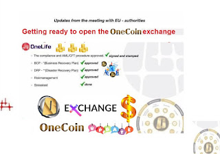 OneCoin Leadership For Exchange