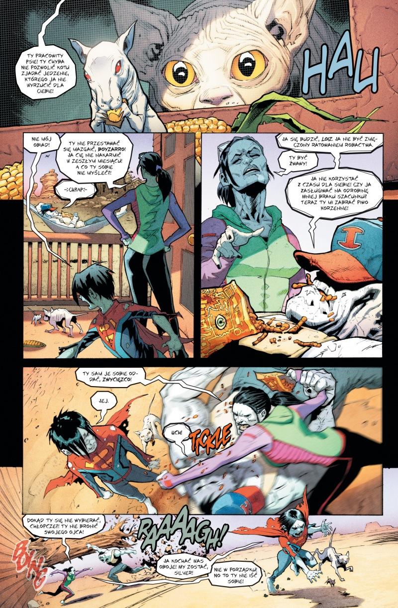 Superman tom 7 przykładowa strona