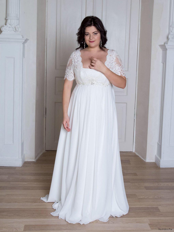 Vestidos para boda civil para gorditas y bajitas