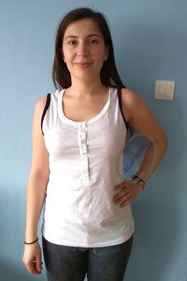Adzik tworzy - Jak poszerzyć bluzkę po bokach DIY